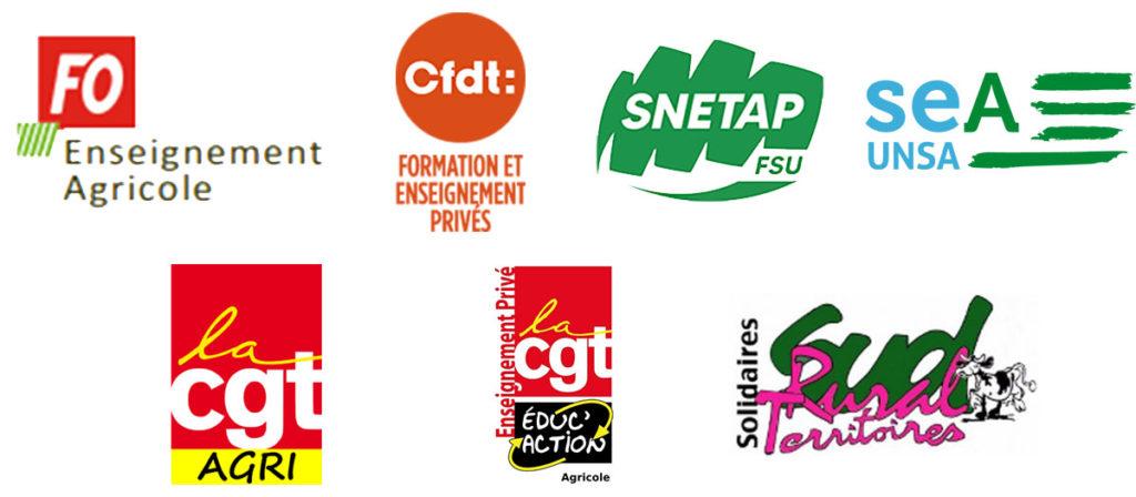 FO-CGT-SNETAP-UNSA-SUD